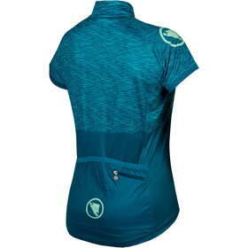 Endura Hummvee Ray II LTD Jersey Korte Mouwen Dames, kingfisher